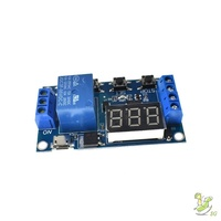 ❤SG❤ LED Digital Display Home Automation Trigger Time Circuit Timer Control Switch Relay Module