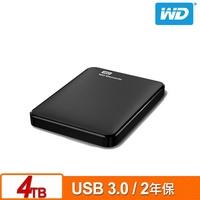 WD Elements 4TB 2.5吋 行動硬碟 (WDBU6Y0040BBK-WESN)