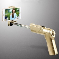 Bakeey 2 in 1 bluetooth 3D AR Gun Virtual Reality Toys Game Selfie Stick Phone Stand for Smartphone