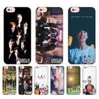 Favorite gift BTS Photos  Mobile Shell For Iphone 5 5S Se 6 6S 7 7Plus 8 8Plus Phone Shell And Case