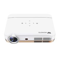 Wowoto H10 DLP Smart Projector 4500 Lumens 1280x800P 1000:1 Contrast Ratio Supports 4K Wifi Bluetooth Projector