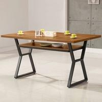 餐桌/飯桌/會議桌【Yostyle】愛德琳工業風4尺餐桌