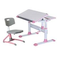 Children Ergonomics Study Table and Chair Set - Blue