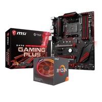 微星 X470 GAMING PLUS+ AMD R7-2700X 組合套餐