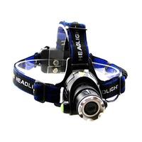 【露營趣】TNR-103 T6/U2升级XML-L2 LED頭燈 18650 登山頭燈 露營工作釣魚1000流明