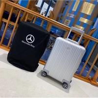 <安雅>全新正品 MERCEDES-BENZ全鋁鎂合金登機箱 旅行箱 20吋