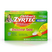 ▶$1 Shop Coupon◀  Children s Zyrtec Orally Disintegrating Tablets Allergy Citrus