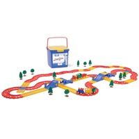 瑞典Viking Toys維京玩具-火車軌道組