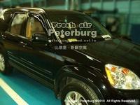 比德堡崁入式晴雨窗  本田Honda CR-V 2003-2007年 二代專用 (前窗兩片價)
