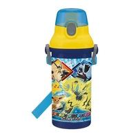 【真愛日本】4973307440304 日本製直飲彈蓋水壺480ML-寶可夢GAC 神奇寶貝 精靈寶可夢 日本製 水瓶 水壺 彈蓋水壺 附揹帶