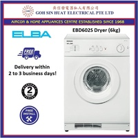 Elba EBD602S Tumble Dryer 6kg