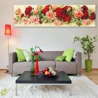 ㊕SG㊕1x Rose Diamond Embroidery 5D Diamond DIY Painting Craft Home Decor