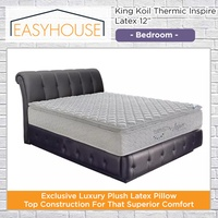 "King Koil Thermic Inspire Latex 12"" Mattress 