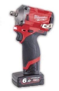 """胖達人五金 米沃奇 美沃奇 Milwaukee M12 FIWF12-632C 最新 12V 鋰電無碳刷衝擊1/2""""扳手"""