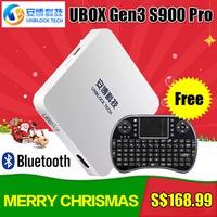 UBOX Gen3 ❤2016 Newest IPTV UBOX lll Gen.3 S900 Pro Unblock Ubox Android 5.1 TV Box III UBOX3 pgraded IPTV Gen.3 S900 Pro UBTV Smart TV Box HD 4K 1G+16G Network Media Player WiFi