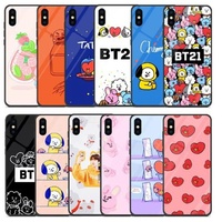 bts bangtan boys phone case bt21 cartoon tata