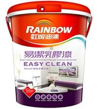 【漆太郎】虹牌432 易潔乳膠漆 生活意外髒汙,一擦就乾淨