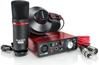 Focusrite Scarlett solo 新版二代 錄音介面套裝組/ USB 2.0(原廠公司貨保固)【內附電容式麥克風/耳機】