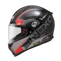 ∥益發安全帽∥ZEUS 1800A AM3 黑紅 德國 NEXO 品牌 雙鏡片 快拆內襯 贈好禮