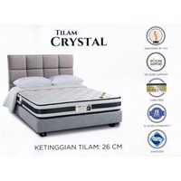 King Koil Prince Collection CRYSTAL 10 Inches Chiropractic Coil Spring Mattress
