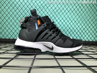 Off-White x Nike Air Presto Men's Running Shoe Fashion Sport Sneakers (Black)