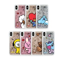 【OFFICIAL GOODS】BT21 Glitter case Comic Series phone case  - iphone case