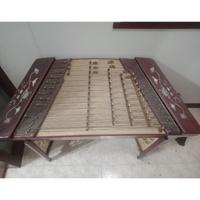 【免運】二手 專業花梨貼雕402揚琴+琴架+琴盒