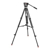 (Price Hidden)Sachtler 1001 Ace M MS System with Ace M Fluid Head, Tripod, Mid-Level Spreader, Bag, Camera Mounting Plate, Pan Bar - intl