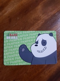 Bare Bears ezlink card
