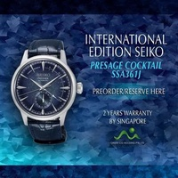 SEIKO INTERNATIONAL EDITION PRESAGE COCKTAIL 3500PCS LIMITED EDITION SSA361J
