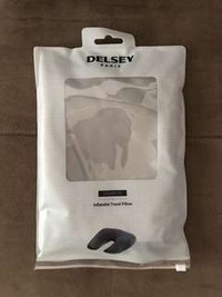 Delsey Inflatable Travel Pillow