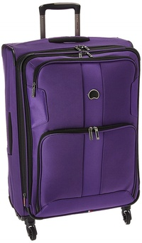 DELSEY Paris Delsey Luggage Sky Max 25 Expandable Spinner Upright, Purple