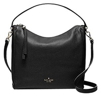 [KATE SPADE NEW YORK] WKRU3244 - Kate Spade Charles Street Small Haven Black Leather Cross-body Bag