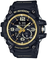 (Casio) CASIO G-SHOCK MASTER OF G Vintage Black & Gold MUDMASTER GG-1000GB-1AJF MENS JAPAN IMPORT...