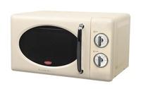 EuropAce Retro 20L Microwave Oven (Cream / Manual) - Torn box