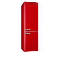 EUROPACE ER9360S (CHERRY RED) 2 DOOR NO FROST FRIDGE (360L)
