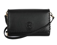 (Tory Burch) Tory Burch Marion Flat Wallet Crossbody Bag, Black, One Size-18169289