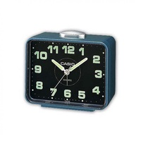 Casio Tq-218-2DF Table Top Travel Alarm Clock Blue