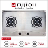 Fujioh ( FH-GS5520 SVSS ) 2 Burner Built-In Gas Hob with Stainless Steel Top