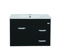 Bathroom stainless steel cabinet with wash basin - Rubine