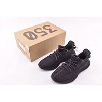 "Adidas Yeezy Boost 350 V2 ""Black"" 黑天使 黑魂 黑武士 鞋帶反光 FU9006"