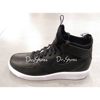【Dr.Shoes】Nike Air Force 1 UltraForce Mid 男鞋 黑白 864014-001