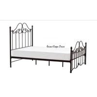 【Eze Art Deco】美國設計師傢飾,美式金屬復古床架,雙人床架.1.5標準雙人床架,可拆裝,鐵床架