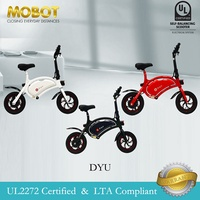Mobot Official DYU UL2272 Certified Electric Scooter✅Mobot E Scooter DYU Escooter ✅ LTA Compliant