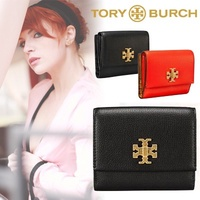 \ Cospa festival ★ special price middle / TORY BURCH Tory Burch ☆ KIRA FOLDABLE MEDIUM WALLET Purse Mini Purse Tory Burch Popular Cute Ladies