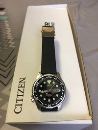 Rare Discontinued Citizen PROMASTER Divers Automatic 42mm Black NY0040
