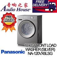 PANASONIC  NA-120VX6LSG 10KG FRONT LOADING WASHING MACHINE ***1 YEAR PANASONIC WARRANTY***
