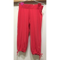PUMA 紅色 運動褲 七分7分 Yoga瑜珈褲
