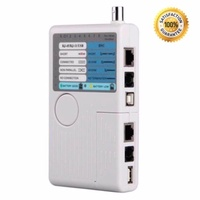 4in1 Remote RJ11 RJ45 USB BNC Phone LAN Network Computer Cables Tester Mete - intl
