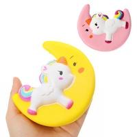 Cartoon Unicorn Moon Pegasus Squishy 11cm Slow Rising Collection Gift Toy